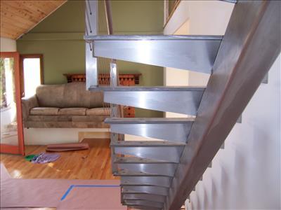 Stainless Steel Floating Stairs Effi 007